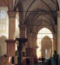 Bosboom Johannes Grote Sint Laurens Church In Alkmaar Sun