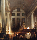 Bosboom Johannes Portugese Synagoge In Amsterdam Sun