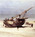 Bosboom Johannes Ships On The Beach Of Scheveningen Sun