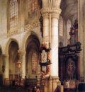 Bosboom Johannes St Jacobskerk Antwerpen Sun
