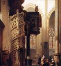 Bosboom Johannes St  Maclou In Rouen Sun