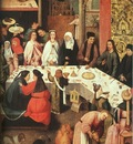 BOSCH, HIERONYMOUS MARRIAGE FEAST AT CANA, OIL ON PANEL