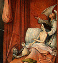 BOSCH DEATH AND THE MISER, C  1485 1490 DETALJ 2 NGW