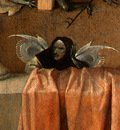 BOSCH DEATH AND THE MISER, C  1485 1490 DETALJ 5 NGW