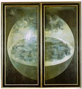 Garden of Earthly Delights, outer wings of the triptych