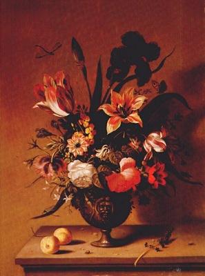 bosschaert the younger flowers in bronze vase c1640