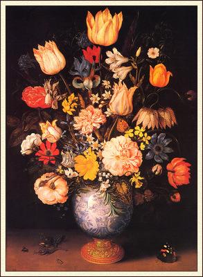 bs flo Ambrosius Bosschaert The Elder Large Bouquet