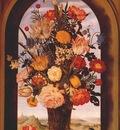 bosschaert flower vase in window niche c1620