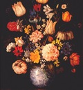 bosschaert large bouquet in wan li vase