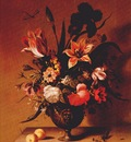 bosschaert the younger flowers in bronze vase c1640