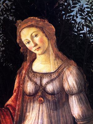 Botticelli Sandro Primavera dt1