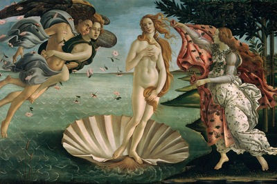 the birth of venus, botticelli, 1484 1600x1200 id