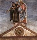 botticelli the temptation of christ detail