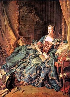 boucher the marquise de pompadour,