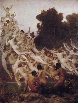 bouguereau william les oreades