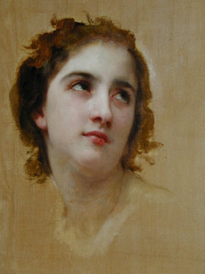 Bouguereau William Unfinished detail