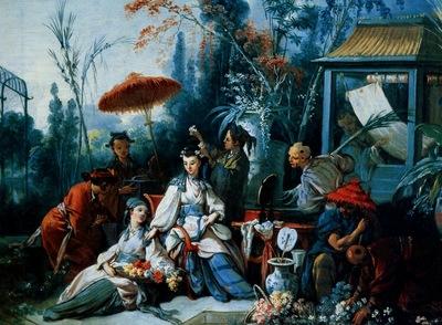 Francois Boucher Le Jardin Chinois, De