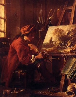 The Painter in His Studio WGA