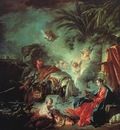 boucher the rest on the flight into egypt,