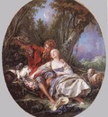 Shepherd and Shepherdess Reposing WGA
