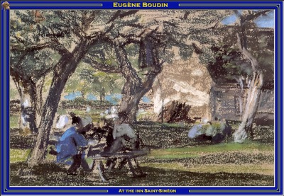 PO Vp S2 46 Boudin At the inn Saint Simeon