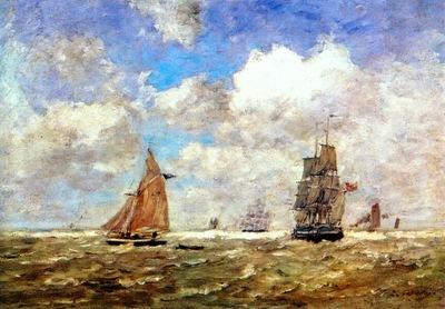 boudin high seas 1872