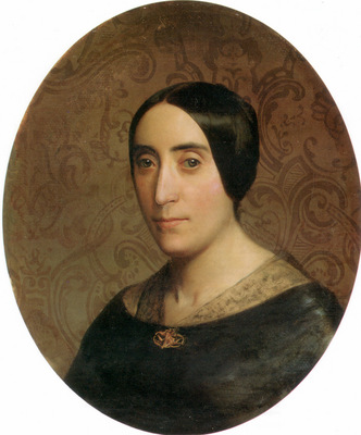 A Portrait of Amelina Dufaud Bouguereau