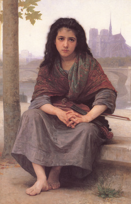 Bouguereau The Bohemian