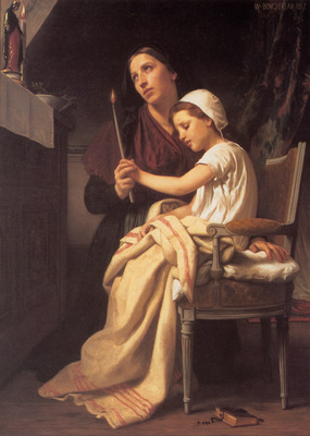Bouguereau The Thank Offering