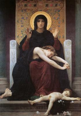 Bouguereau Vierge consolatrice