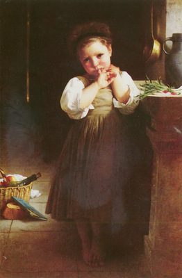 Bouguereau William Adolphe MAUVAISE ECOLIERE