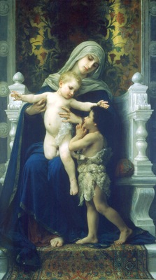 La Vierge LEnfant Jesus et Saint Jean Baptiste2