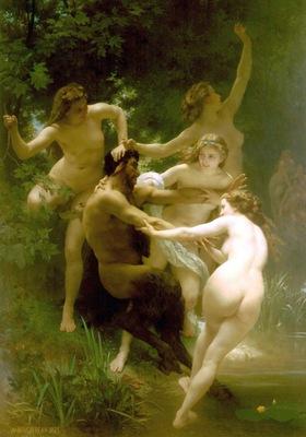 Nymphes et satyre hi