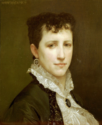 Portrait de Mademoiselle Elizabeth Gardner