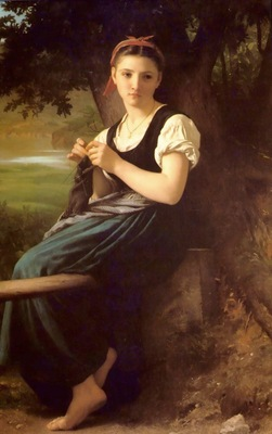 The Knitting Girl