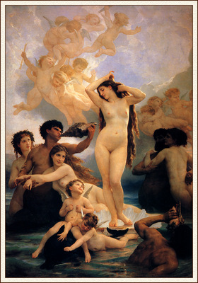 bs Adolphe William Bouguereau Birth Of Venus