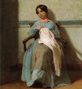 A Portrait of Leonie Bouguereau