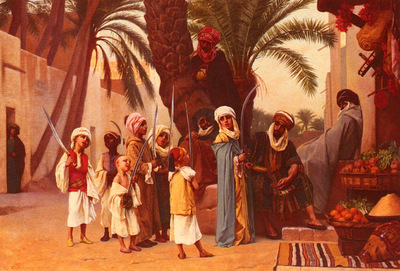 Boulanger Gustave Clarence Rodolphe A Tale Of 1001 Nights