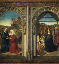 Bouts Dirck Polyptych Showing The Annunciation