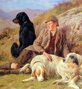 Bradley Basil Waiting for the hunters Sun