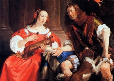 Braij de Jan A couple as Odysseus and Penelope Sun