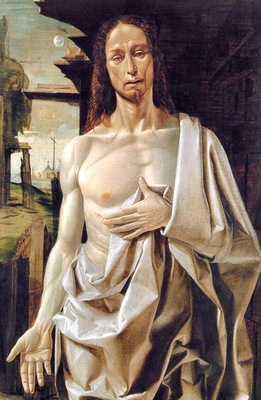 Bramantino Bartolomeo Suardi The Risen Christ 1490 end
