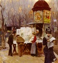 Brancaccio Carlo The Kiosk, Paris