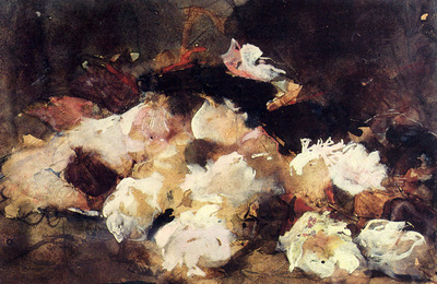 Breitner George Hendrik A Still Life With Roses