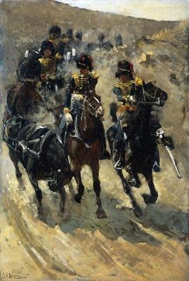 Breitner George Hendrik Riding Artillery Sun