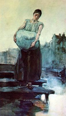 Breitner The washing woman Sun