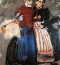 Breitner George Hendrik Two Amsterdam girls Sun
