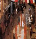 Breitner George Kalverstraat with Flags Sun