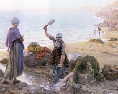 Breton Jules Souvenir de dour Arnenez