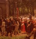 Breton Jules Le Pardon De Kergoat